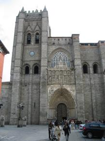avila espagne cathedrale - Photo