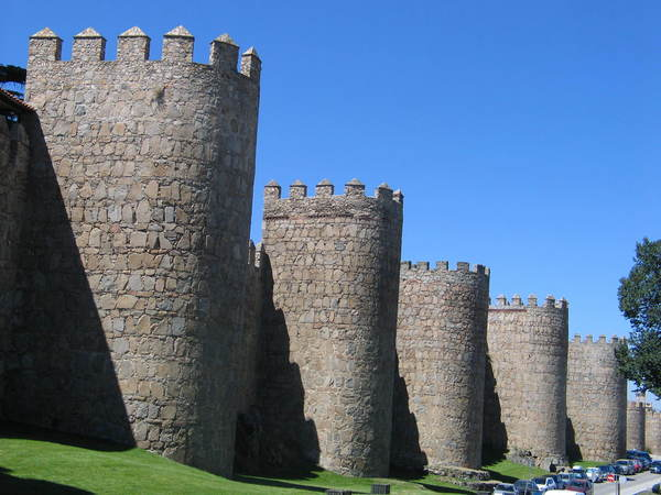 The Medieval City Walls of Avila